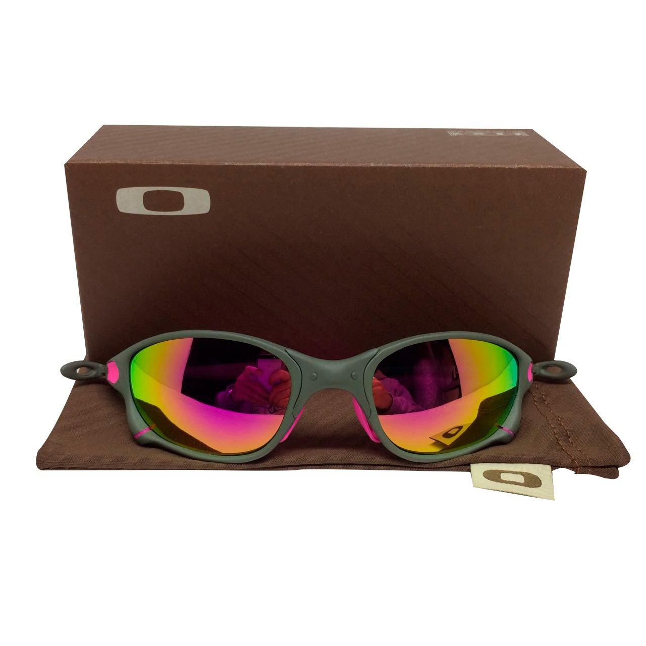 28d02de6f Óculos Oakley Juliet Doublexx Xmetal rosa – Sanfer Acessórios