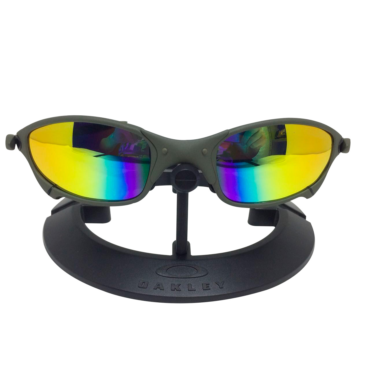 325be080a Óculos Oakley Juliet XMetal lente arco iris – Sanfer Acessórios