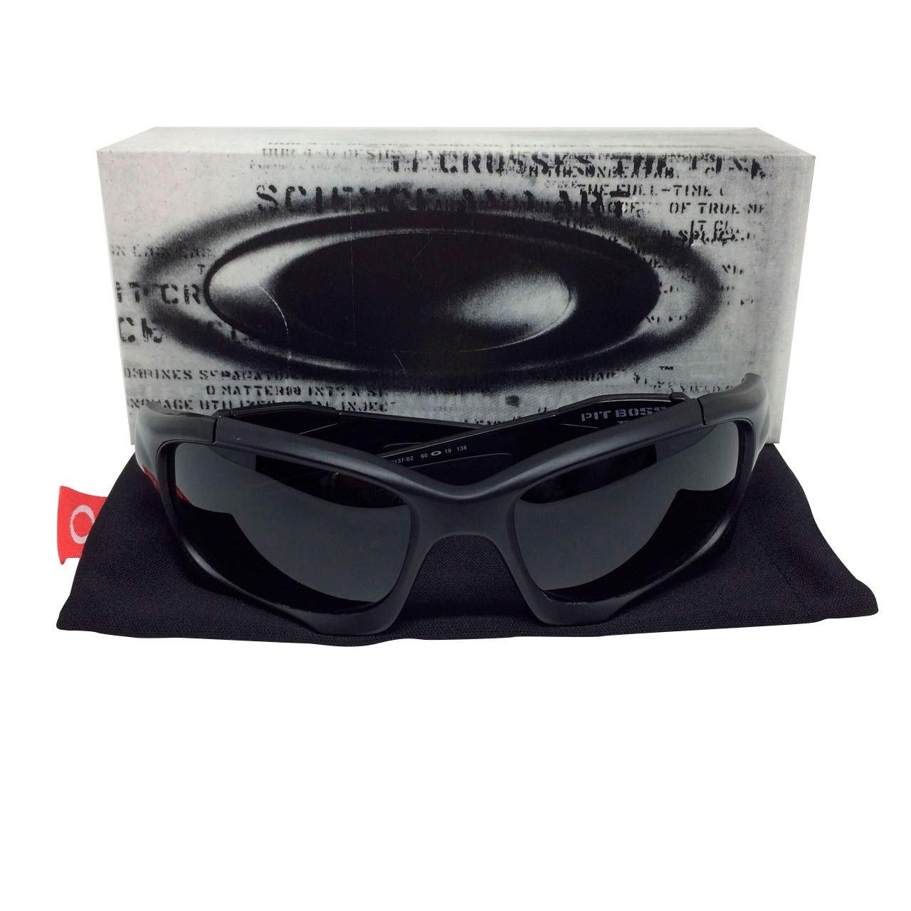 9d32505d3cea9 Óculos Oakley Pit Boss 2 lente preta – Sanfer Acessórios