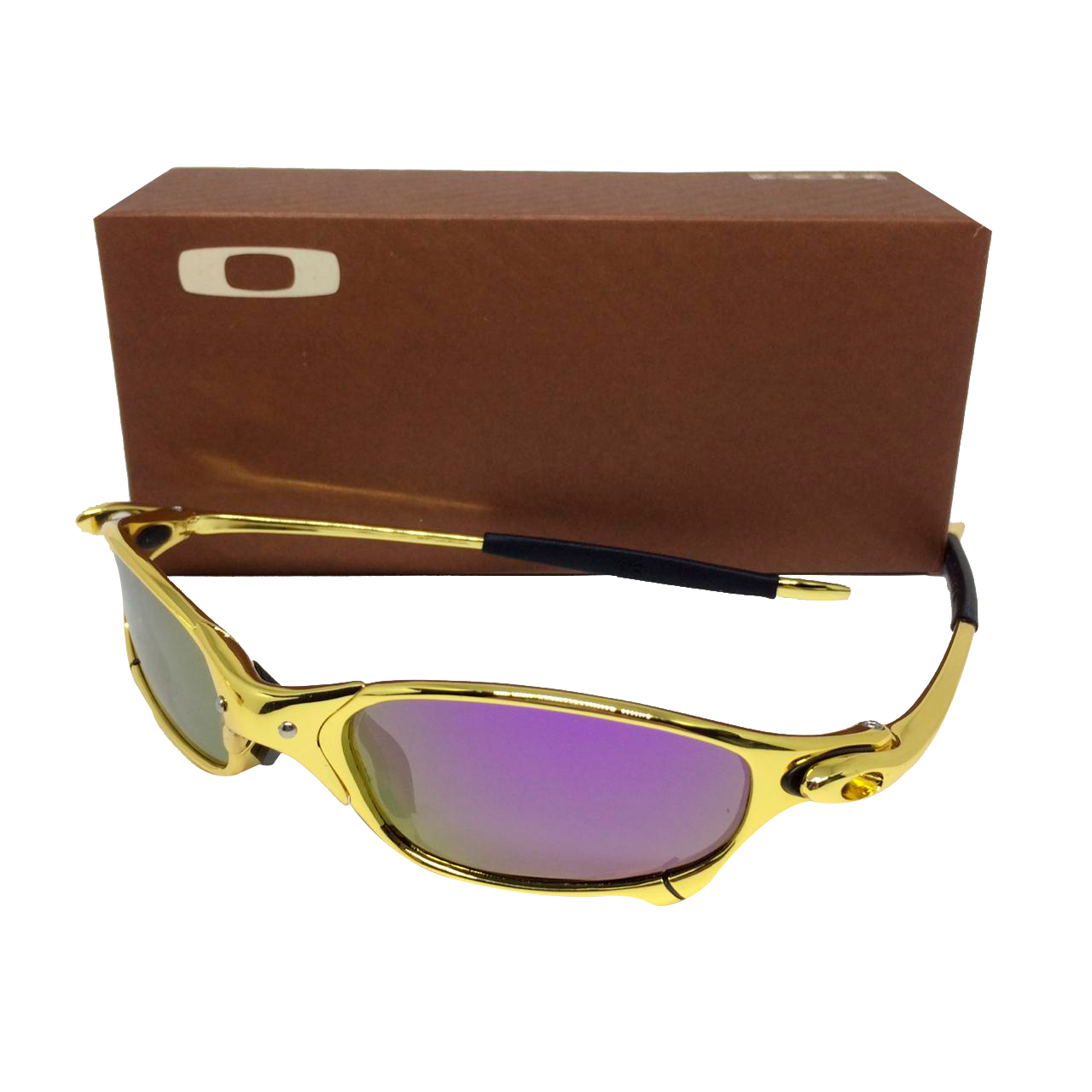 955a65dcb4c8c Óculos Oakley Juliet Gold 24k lente roxa – Sanfer Acessórios